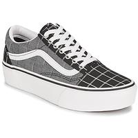 Παπούτσια Γυναίκα Χαμηλά Sneakers Vans OLD SKOOL PLATFORM Grey