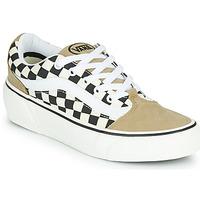 Παπούτσια Γυναίκα Χαμηλά Sneakers Vans SHAPE NI Beige / Άσπρο