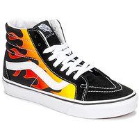 Παπούτσια Ψηλά Sneakers Vans SK8-HI REISSUE Black / Flame