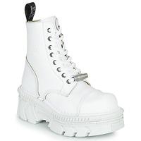 Παπούτσια Μπότες New Rock M-MILI083CM-C56 Άσπρο
