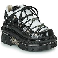 Παπούτσια Γυναίκα Χαμηλά Sneakers New Rock M-106N-S76 Black / Άσπρο