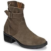 Παπούτσια Γυναίκα Μποτίνια Palladium Manufacture MARGO 04 SUD Kaki