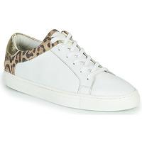 Παπούτσια Γυναίκα Χαμηλά Sneakers Les Tropéziennes par M Belarbi Louane Άσπρο / Leopard
