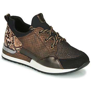 Παπούτσια Γυναίκα Χαμηλά Sneakers Remonte Dorndorf R2503-24 Brown / Reptile