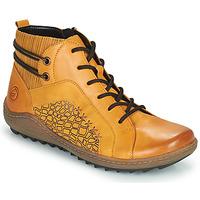 Παπούτσια Γυναίκα Ψηλά Sneakers Remonte Dorndorf R1499-68 Yellow