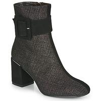 Παπούτσια Γυναίκα Μποτίνια Perlato JAMIROCK Black