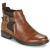 Παπούτσια Γυναίκα Μποτίνια Rieker Z49A9-24 Camel