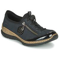 Παπούτσια Γυναίκα Derby Rieker N3268-01 Μπλέ / Black