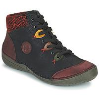 Παπούτσια Γυναίκα Μπότες Rieker 52513-36 Black / Bordeaux