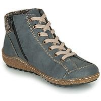 Παπούτσια Γυναίκα Μπότες Rieker L7543-14 Μπλέ