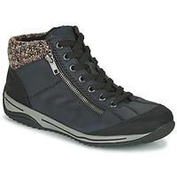 Παπούτσια Γυναίκα Μπότες Rieker L5223-00 Μπλέ