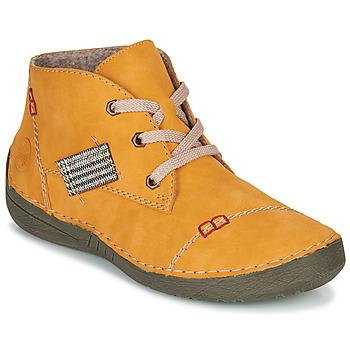Παπούτσια Γυναίκα Μπότες Rieker PHILOMENA Yellow