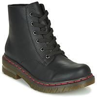 Παπούτσια Γυναίκα Μπότες Rieker 76240-00 Black