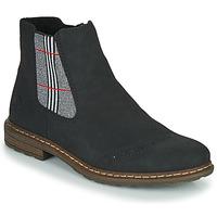 Παπούτσια Γυναίκα Μπότες Rieker 71072-02 Black / Multicolour