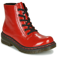 Παπούτσια Γυναίκα Μπότες Rieker 76240-33 Red