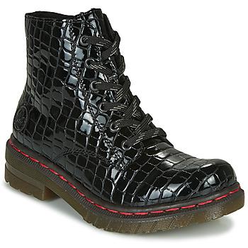 Παπούτσια Γυναίκα Μπότες Rieker 76246-00 Black