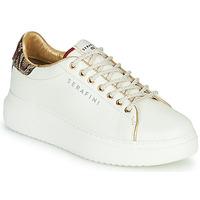 Παπούτσια Γυναίκα Χαμηλά Sneakers Serafini J.CONNORS Άσπρο / Python