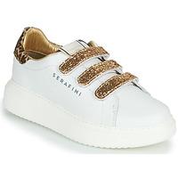 Παπούτσια Γυναίκα Χαμηλά Sneakers Serafini J.CONNORS Άσπρο / Gold