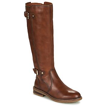 Παπούτσια Γυναίκα Μπότες για την πόλη Pikolinos ALDAYA W8J Brown