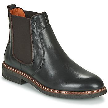 Παπούτσια Γυναίκα Μπότες Pikolinos ALDAYA W8J Black / Brown