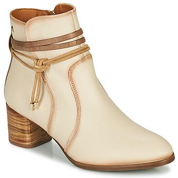 Παπούτσια Γυναίκα Μποτίνια Pikolinos CALAFAT W1Z Beige / Brown