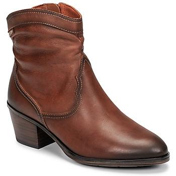 Παπούτσια Γυναίκα Μποτίνια Pikolinos CUENCA W4T Brown