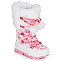 Παπούτσια Κορίτσι Snow boots Agatha Ruiz de la Prada APRESKI Άσπρο