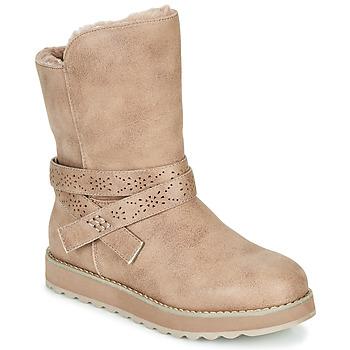 Παπούτσια Γυναίκα Μπότες Skechers KEEPSAKES 2.0 Taupe