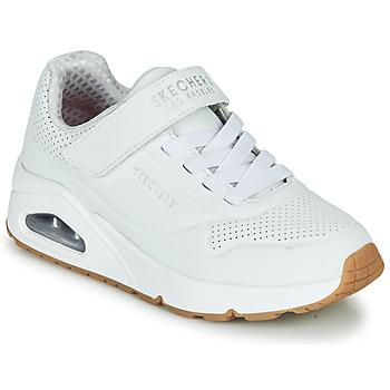 Παπούτσια Παιδί Χαμηλά Sneakers Skechers UNO Άσπρο