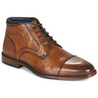 Παπούτσια Άνδρας Μπότες Azzaro TELLIS Cognac