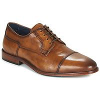 Παπούτσια Άνδρας Derby Azzaro TILLEUL Cognac