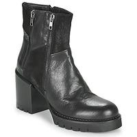Παπούτσια Γυναίκα Μποτίνια Café Noir JOEL Black