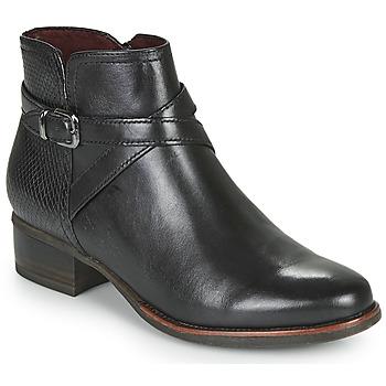 Παπούτσια Γυναίκα Μποτίνια Tamaris MARLY Black