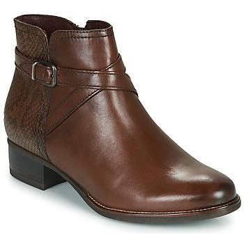 Παπούτσια Γυναίκα Μποτίνια Tamaris MARLY Brown