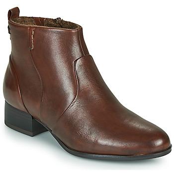 Παπούτσια Γυναίκα Μποτίνια Tamaris YAMILA Brown