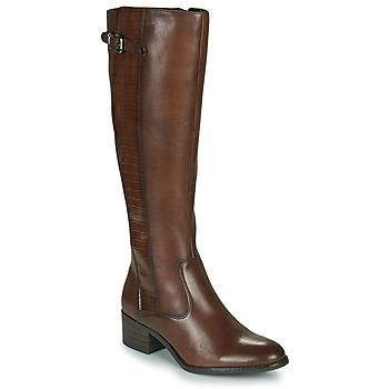 Παπούτσια Γυναίκα Μπότες για την πόλη Tamaris BAKU Brown