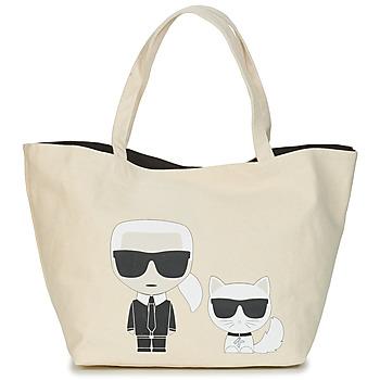 Τσάντες Γυναίκα Cabas / Sac shopping Karl Lagerfeld K/IKONIK KARL & CHOUPETTE TOTE Black