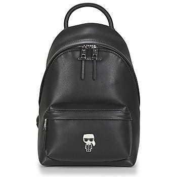 Τσάντες Γυναίκα Σακίδια πλάτης Karl Lagerfeld K/IKONIK METAL PIN BACKPACK Black