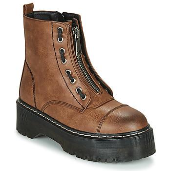 Παπούτσια Γυναίκα Μπότες Emmshu AVRIL Cognac