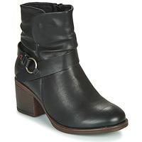 Παπούτσια Γυναίκα Μποτίνια Emmshu FLEUR Black