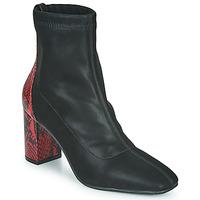 Παπούτσια Γυναίκα Μποτίνια Gioseppo EGELN Black / Red