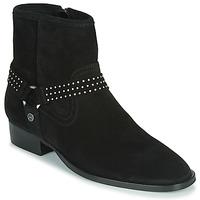 Παπούτσια Γυναίκα Μπότες Ikks BOOTS GAUCHO Black