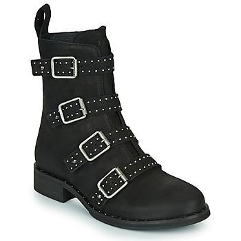 Παπούτσια Γυναίκα Μπότες Ikks URBAN RANGERS Black