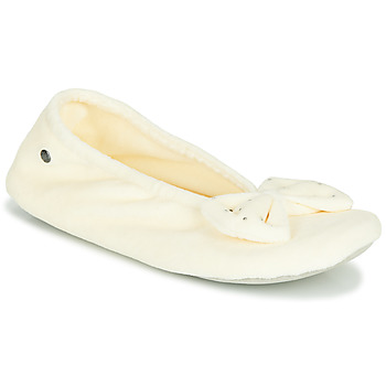 Παπούτσια Γυναίκα Παντόφλες Isotoner 95991 Ivory