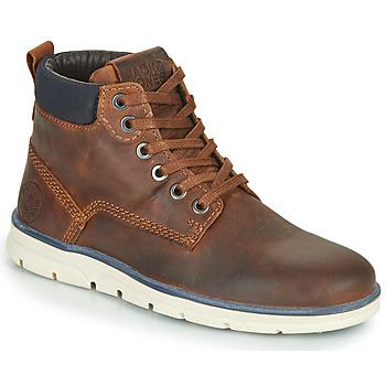 Παπούτσια Αγόρι Μπότες Jack & Jones JR TUBAR LEATHER Brown