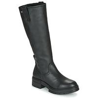 Παπούτσια Γυναίκα Μπότες για την πόλη Musse & Cloud GEORGETE Black