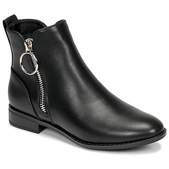 Παπούτσια Γυναίκα Μπότες Only BOBBY 22 PU ZIP BOOT Black