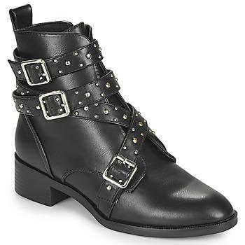 Παπούτσια Γυναίκα Μπότες Only BRIGHT 14 PU STUD BOOT Black