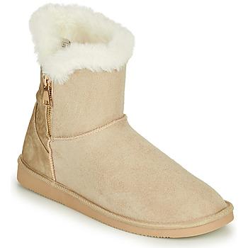 Παπούτσια Γυναίκα Μπότες Only BREEZE 1 ZIP BOOT Beige