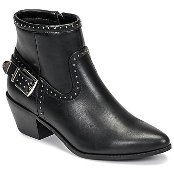 Παπούτσια Γυναίκα Μποτίνια Only TOBIO-7 PU STUD BOOT Black